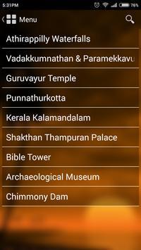 Thrissur Tourism apk screenshot