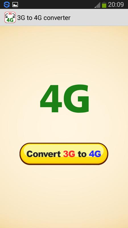 3g To 4g Converter Prank Apk Download Free Tools App For