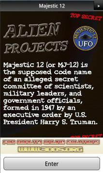 Majestic 12 UFO FREE poster