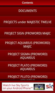 Majestic 12 UFO FREE apk screenshot