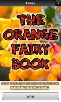 The Orange Fairy Book FREE poster