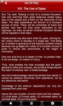 The Art of War by Sun Tzu FREE apk screenshot