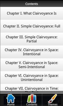 Clairvoyance FREE apk screenshot