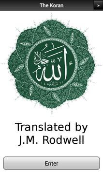 Koran (Quran) In English PRO poster