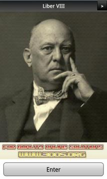 Aleister Crowley Liber 8 FREE poster