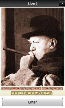 Aleister Crowley Liber I FREE poster