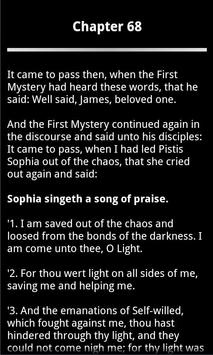 Pistis Sophia Book 2 FREE apk screenshot