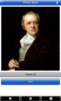 Poems of William Blake FREE poster