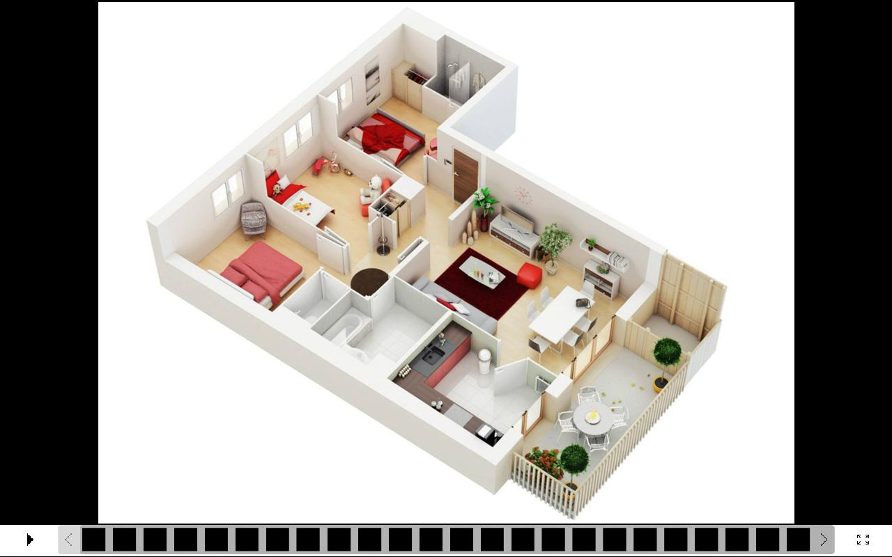 3d house design apk download free lifestyle app for for Plan 3d online home design free