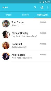 Sup? for Text/Audio/Video chat apk screenshot