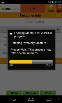 Juno -Data Entry to Tally ERP9 poster