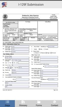 US Fiance Visa K1 i129f apk screenshot