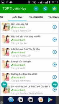 Truyện ucnon - TOP Truyện Hay apk screenshot