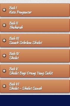 Belajar Sholat Lengkap apk screenshot