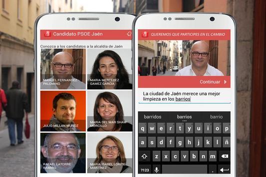 Candidato PSOE Jaén apk screenshot