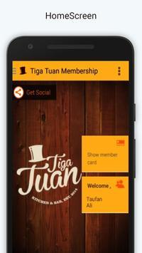 Tiga Tuan Membership poster