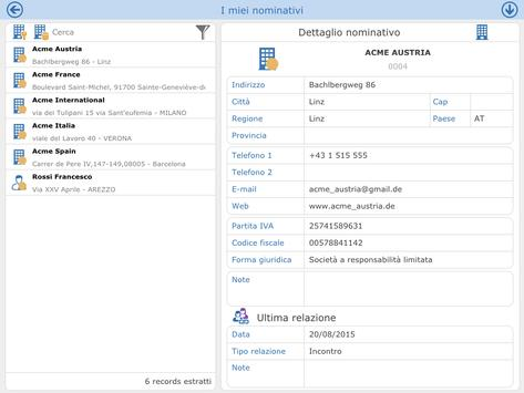 Coregain CRM apk screenshot