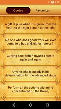 Mahabharat Geeta Krishna Quote apk screenshot