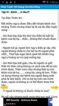 Shan Tuyết- Nữ Hoàng Mùa Đông apk screenshot