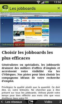Carriere Bac+5 apk screenshot