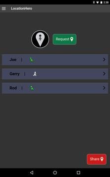 LocationHero apk screenshot