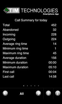 TIM4biz Call Accounting apk screenshot