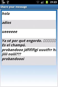 Send Saved Messages apk screenshot