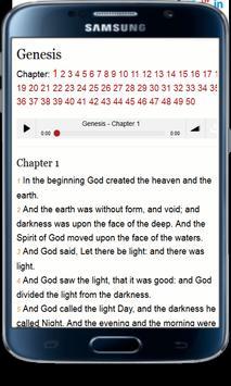 King James Version Bible -KJV apk screenshot