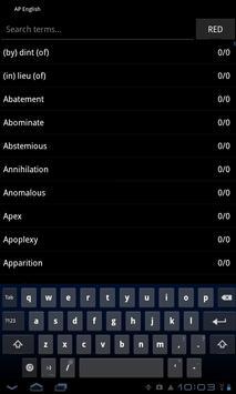 AP English Terms apk screenshot