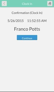 TimeClock Plus v7 MobileClock apk screenshot