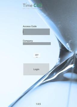 TimeCUE Tablet apk screenshot