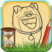 Time Draw for Pets Secret Life icon
