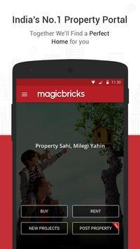 MagicBricks Property Search poster