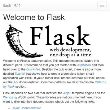 python flask doc poster
