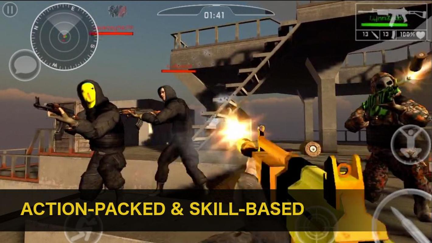 Natural Born Soldier: Epic FPS APK Download - Gratis Laga ...