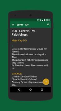 SDA Hymnal apk screenshot