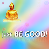 Just Be Good Buddhist icon