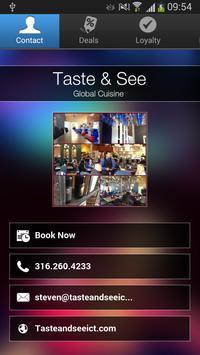Taste & See poster