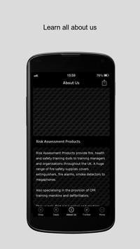 Risk Assessment Products apk screenshot