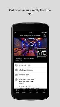 NYC Party Bus, SUV Limos poster