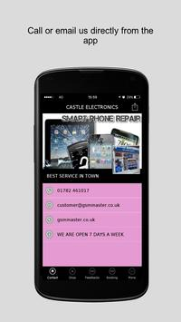 CASTLE ELECTRONICS poster