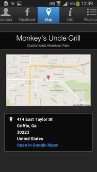 Monkey's Uncle Grill apk screenshot