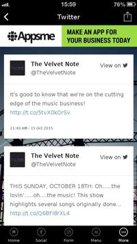 The Velvet Note poster