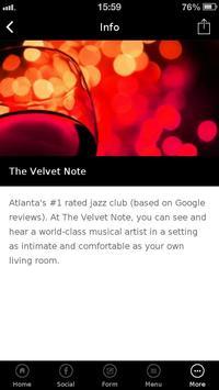 The Velvet Note apk screenshot