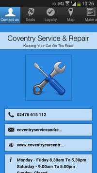 Coventry Service & Repair poster