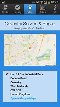 Coventry Service & Repair apk screenshot