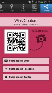 Wink Couture apk screenshot