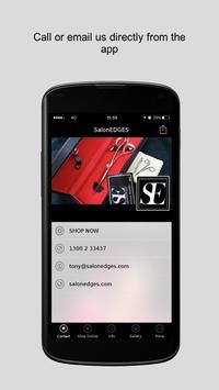 SalonEDGES apk screenshot