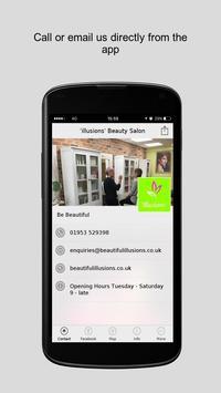 'illusions' Beauty Salon apk screenshot