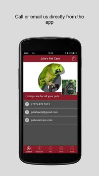 Julie's Pet Care apk screenshot